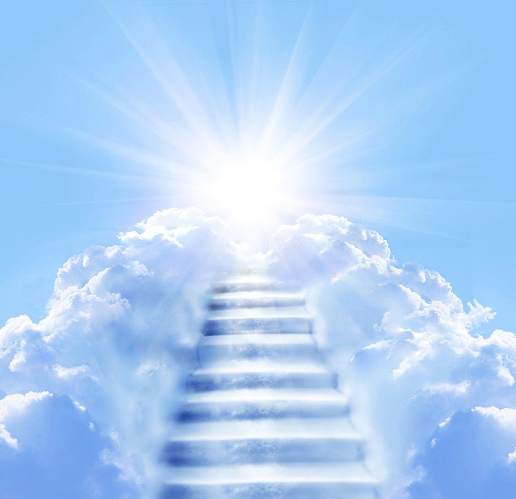 Download Wallpaper X Dandelions Flowers Clearing Rays Heaven Wallpaper Stairway To Heaven Heaven Pictures