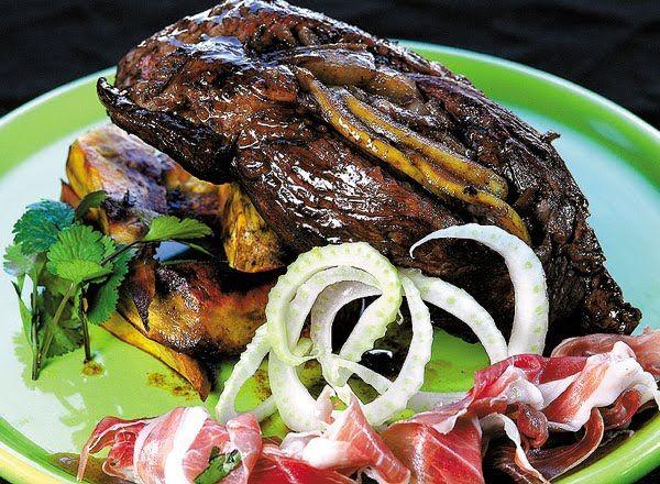 BIFE DE CHORIZO MECHADO CON HINOJOS - Nuevas recetas con carnes