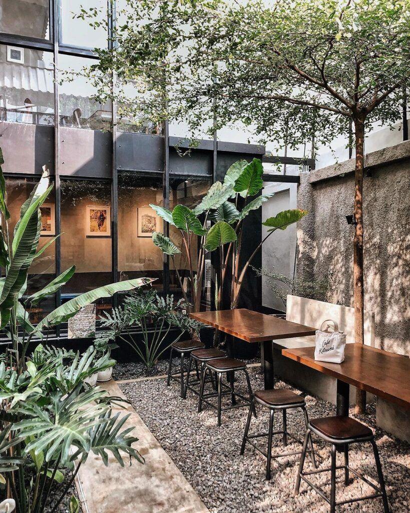 Desain Outdoor Cafe Design