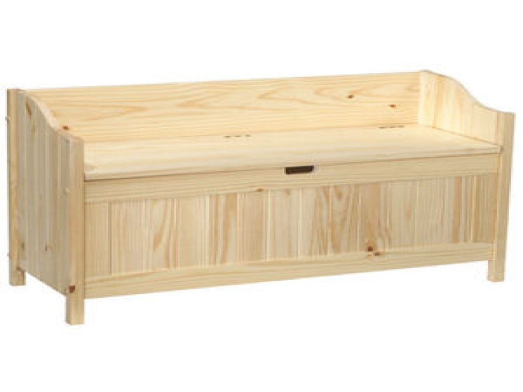 Wood Storage Bench Ideas For Your Home | Indoor storage ...