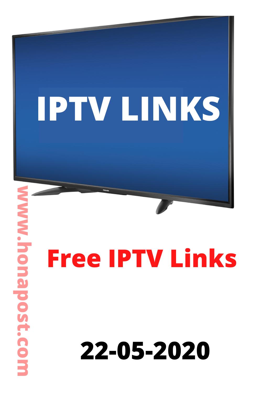 Free IPTV links m3u Playlist 22052020 in 2020 Tv