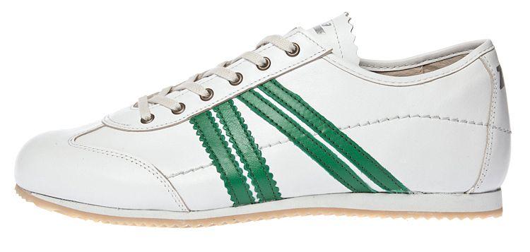 pretty nice 03fb7 343ca Zeha Berlin - Klassiker - Sneaker - bianco verde - Weiss ...