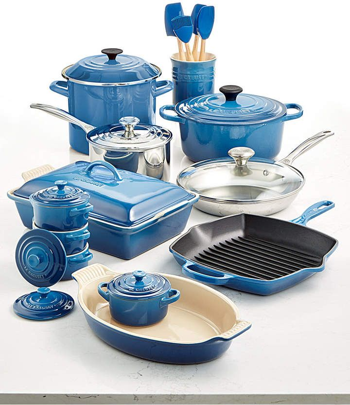 Le Creuset Multi-Materials 20-Pc. Cookware Set, Created