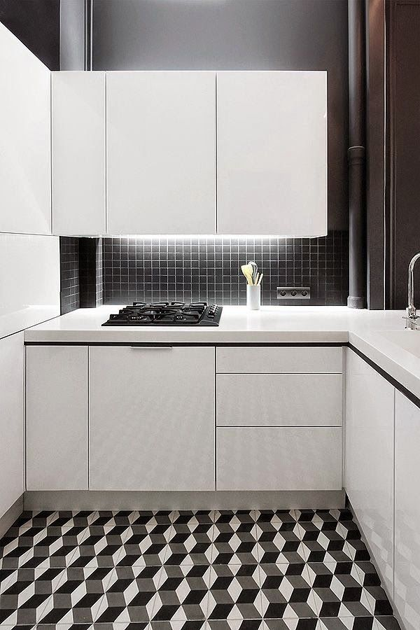 de 30 cocinas modernas pequeñas llenas de inspiración | Cocina ...