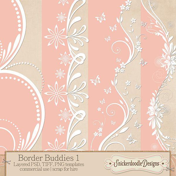 Border Buddies Set 1 #dotd #cudotd
