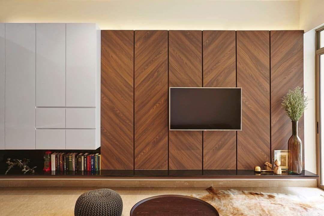 Dark Wood Tv Wall Living Room Tv Wall Tv Wall Decor Tv Wall Design