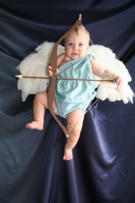 cupid toddler baby Halloween costume diy | Diy costumes ...