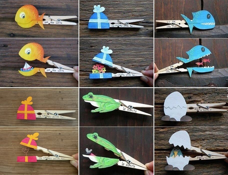Diy crafty pictures photos images and pics for facebook tumblr diy clothespin crafts diy crafts easy crafts diy ideas diy crafts do it yourself easy diy diy tips kids craft kids diy easy diy craft ideas diy tutorialkids solutioingenieria Image collections