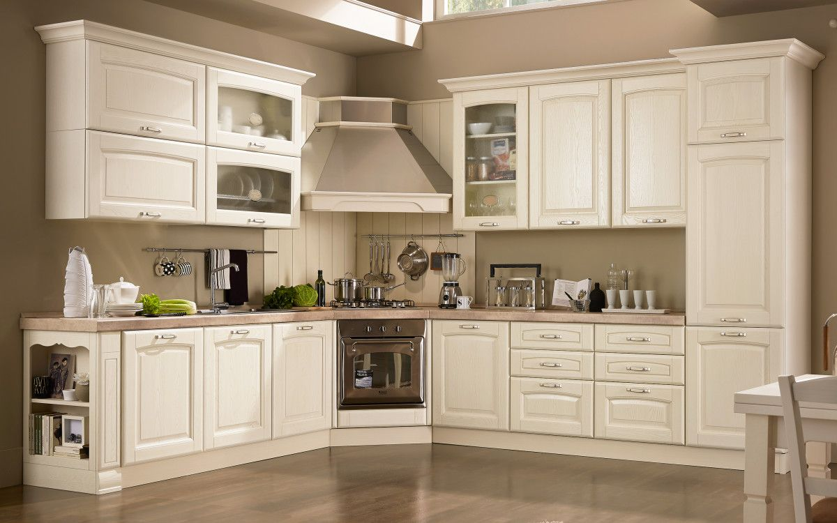 Cucina Componibile Panna Decape Lucrezia Pa7y Cucina Shabby Chic Arredo Interni Cucina Design Cucine