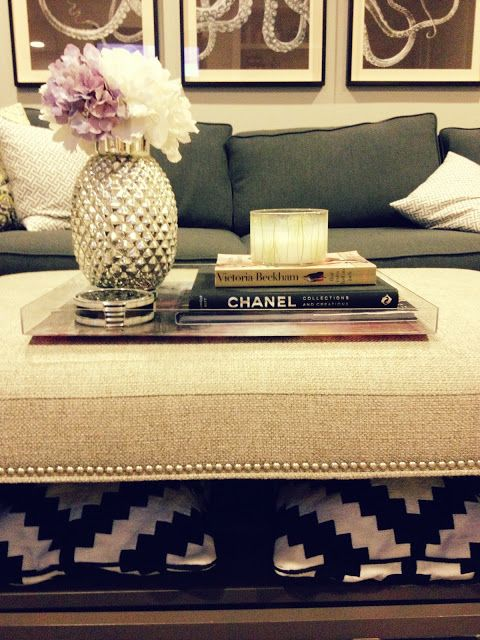 32++ Decorating ottoman coffee table trends