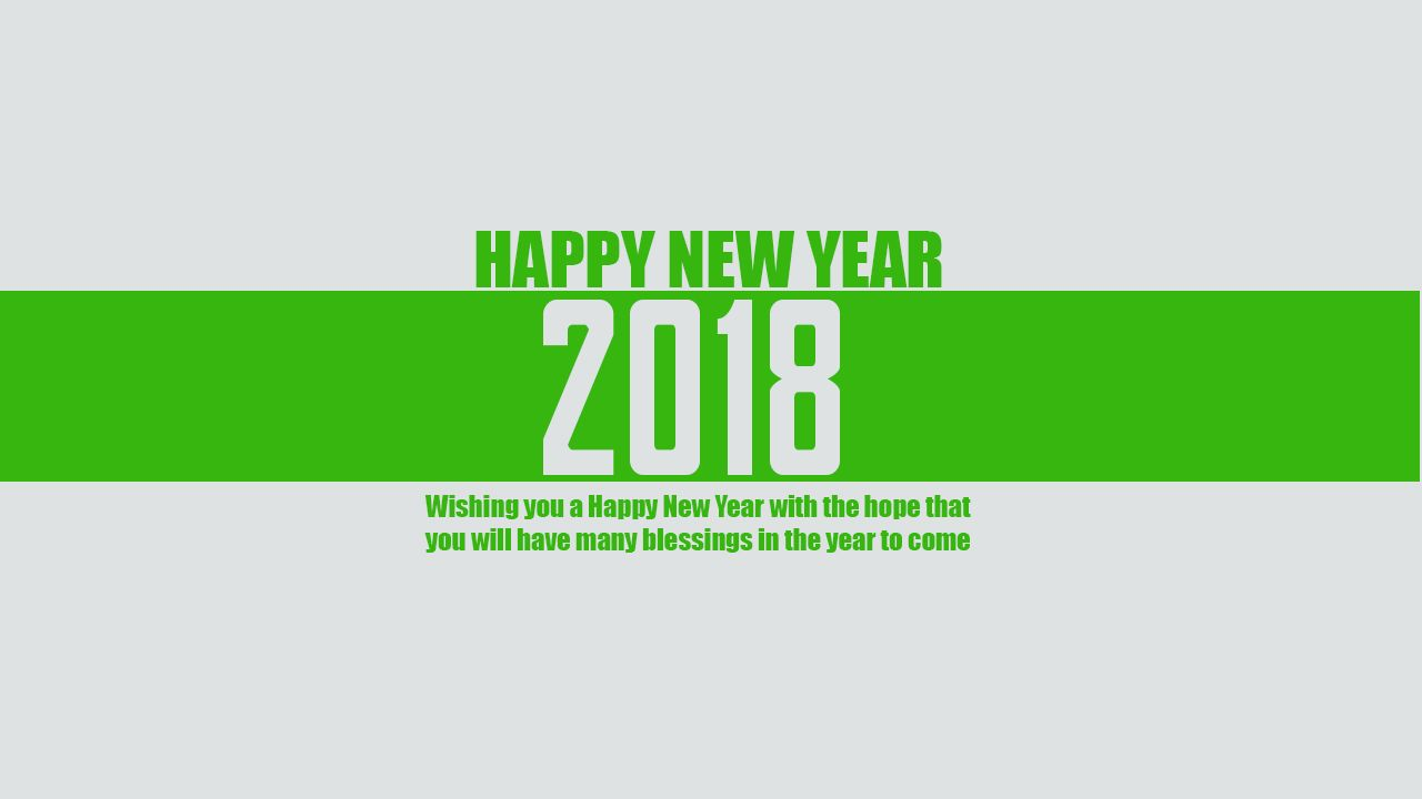 Happy New Year 2018 Images Wishes Quotes Hd Wallpapers Happy