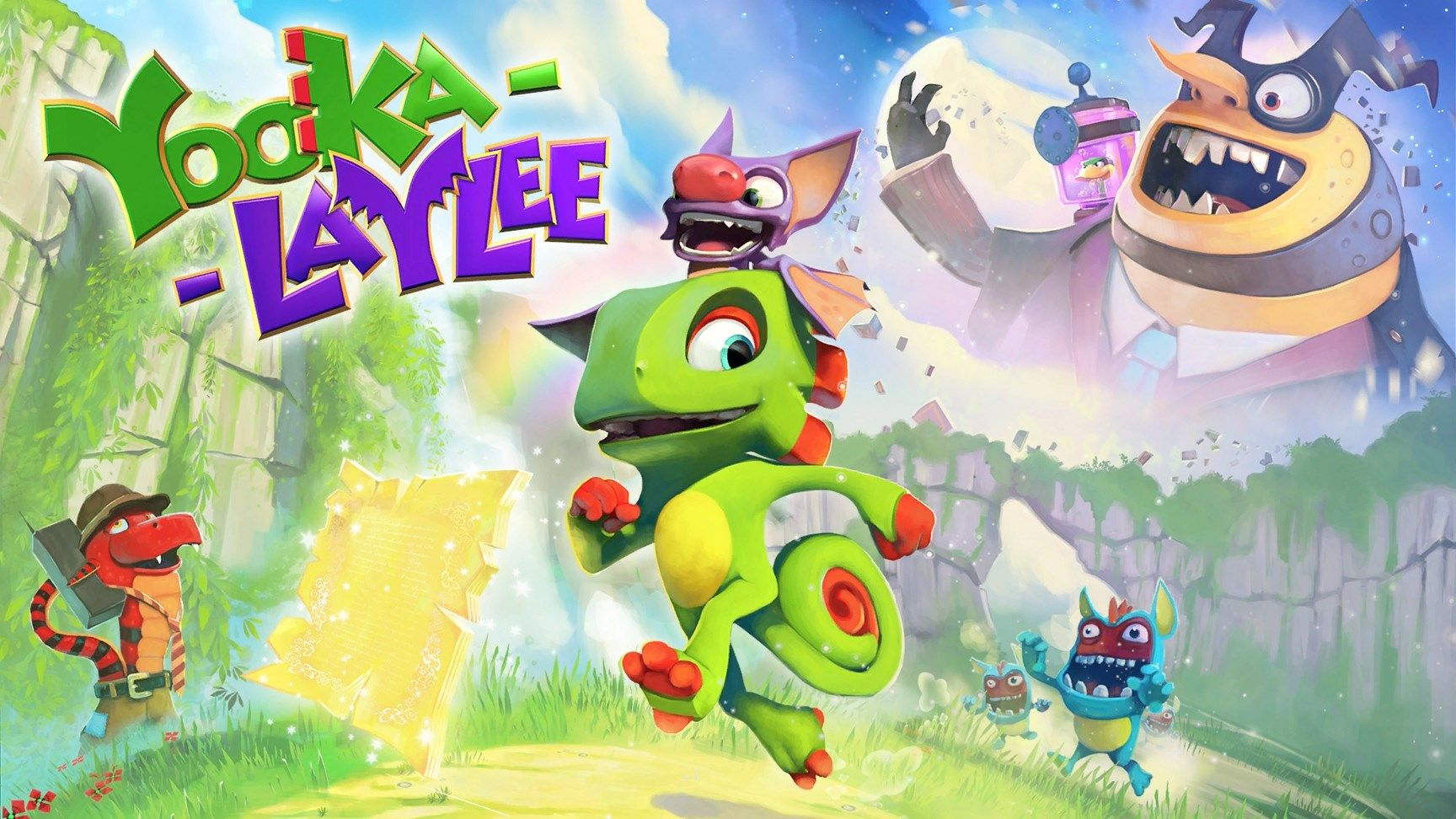 Don't call it a comeback. Playtonic's crowdfunded revival