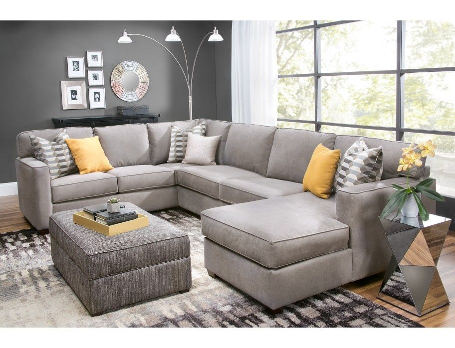 Delicieux Slumberland | Rise Collection   3 Pc Right Chaise Sectional