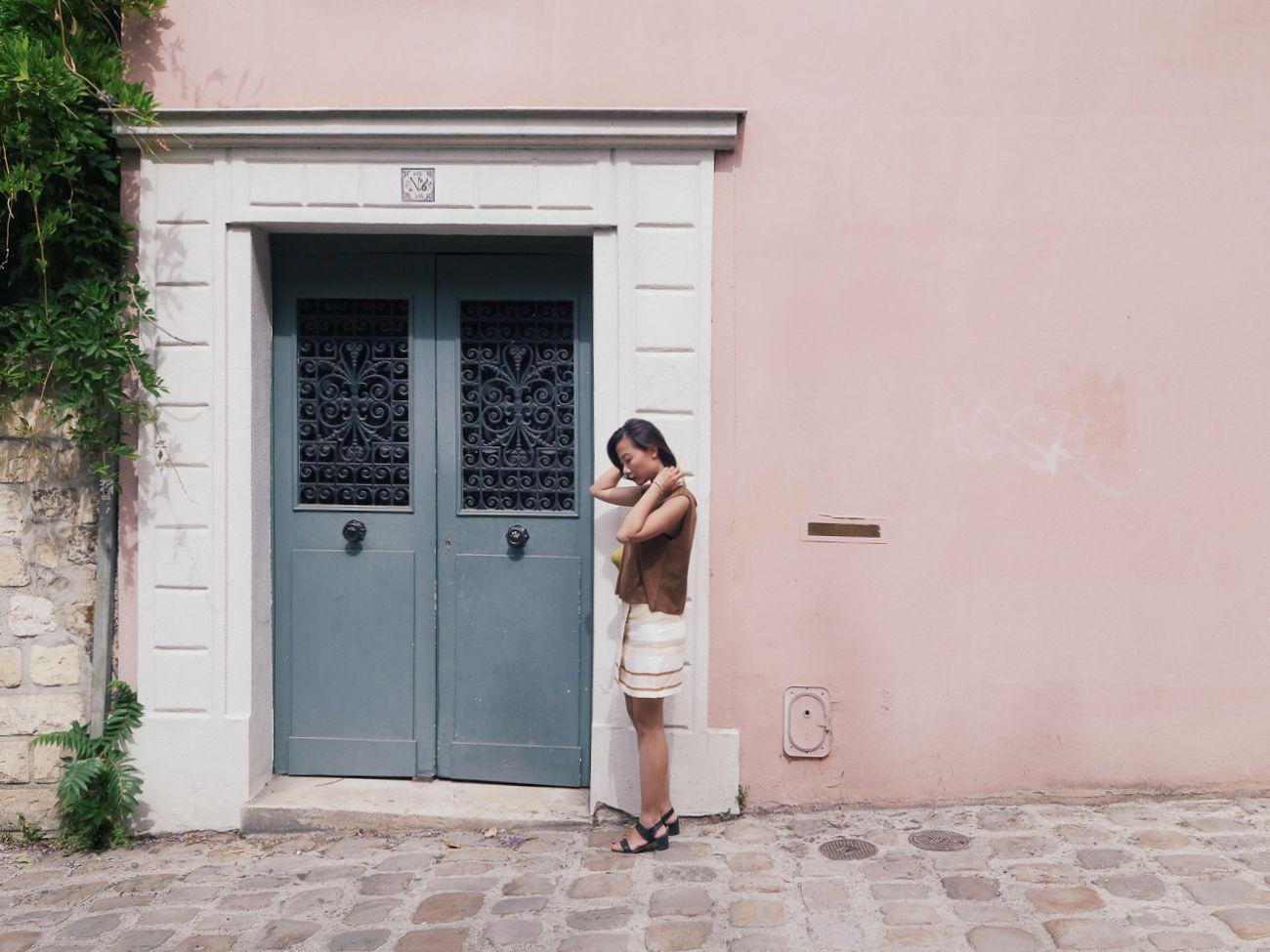 pretty colours in Monmartre