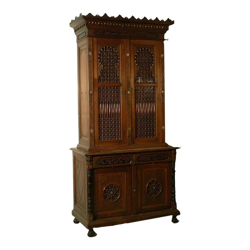 Moroccan Style Cupboard, Germany Ca. 1910 | Moroccan style