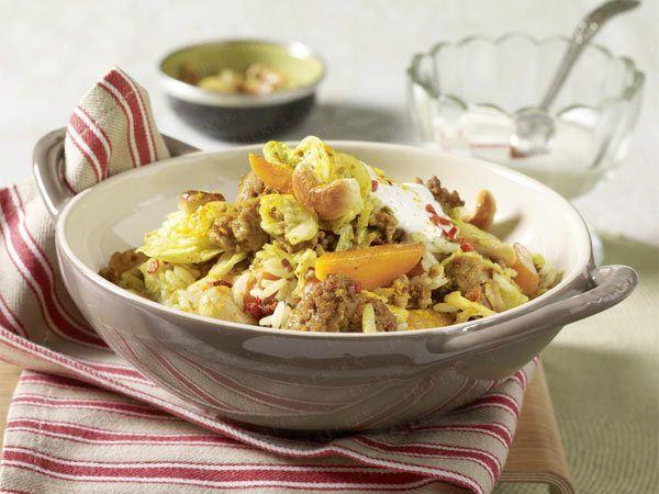 Kohl-Rezepte – neue Lieblingsideen mit Wirsing & Co. - currybratreis  Rezept