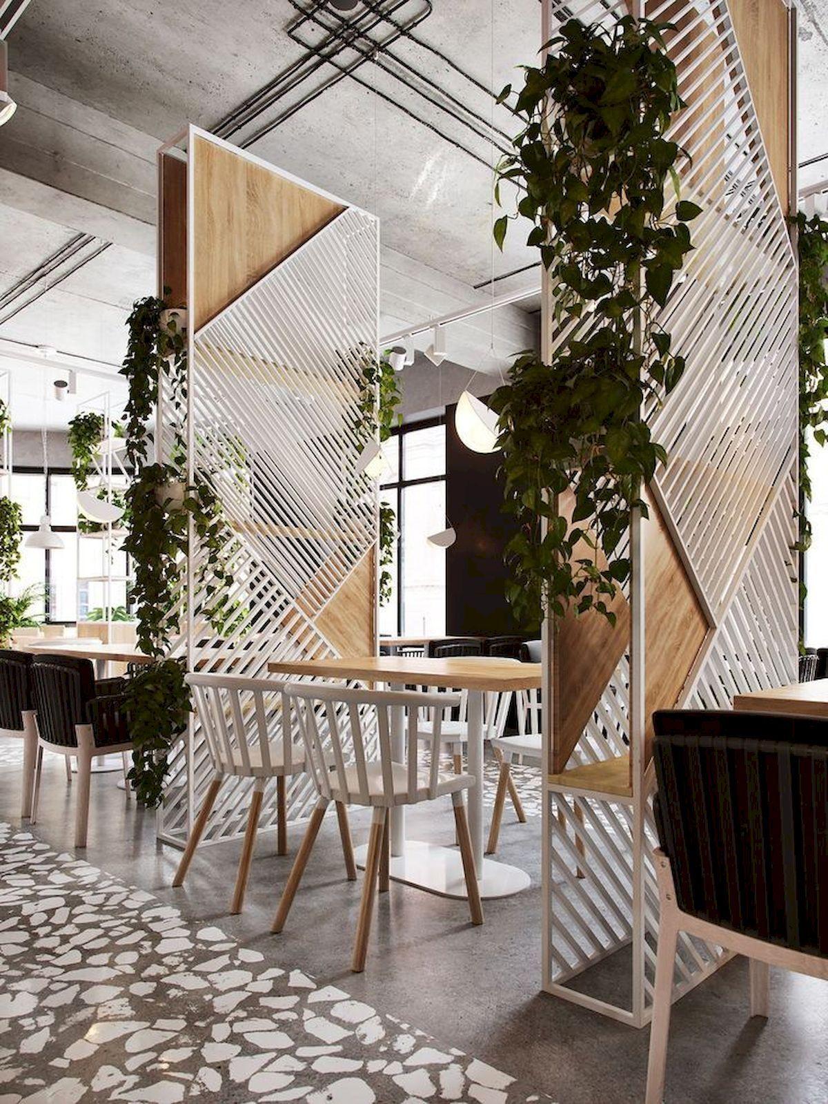 Deco restaurant interior design cafe diy room dividers also chalkboard key rack bloggers  best ideas pinterest rh