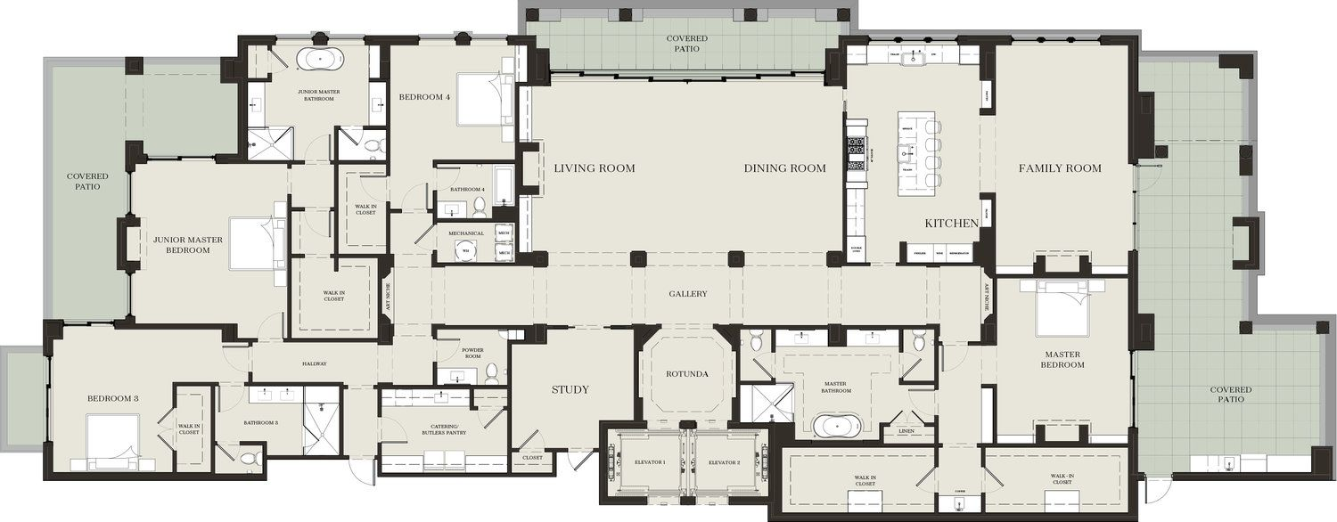 Pin On Ultimate Penthouse Floor Plans