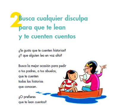 Decálogo para niños - Plan de Fomento de la lectura ...
