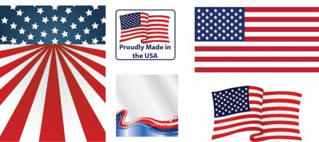 Download American Flag Vector Different Views For Free Flag Vector American Flag Flag Art