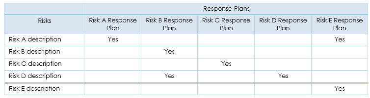Risk Filter Decision Tree  Risk Management Plan Template
