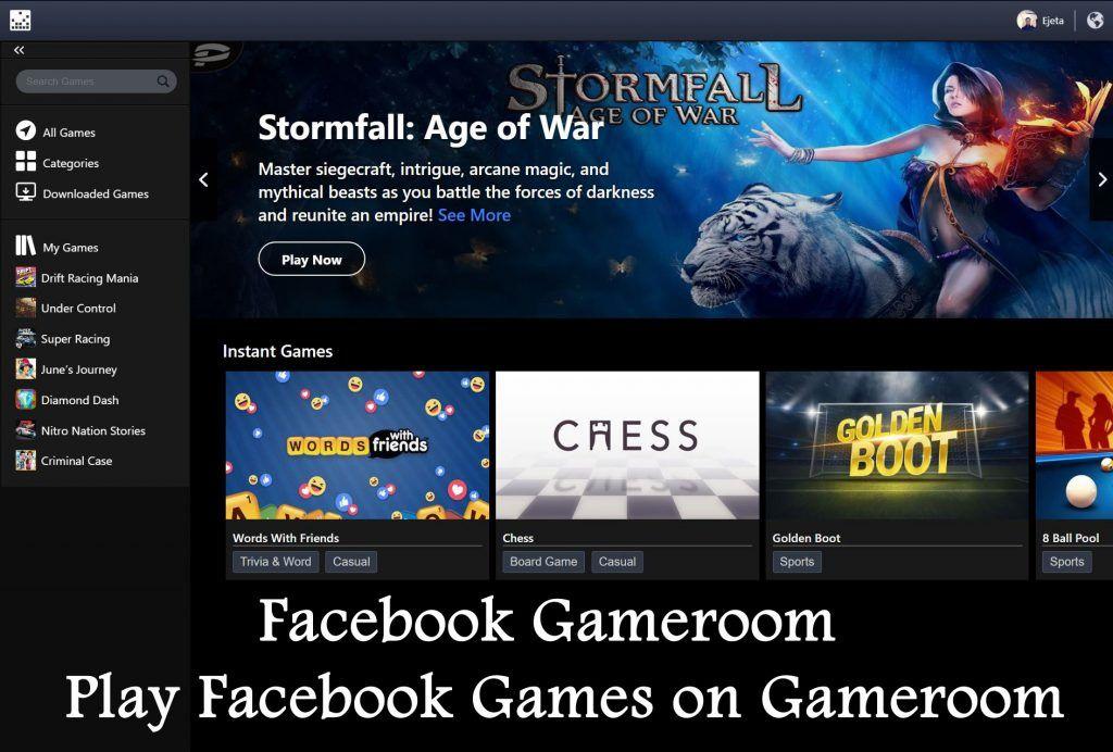 Facebook gameroom facebook gameroom download and install