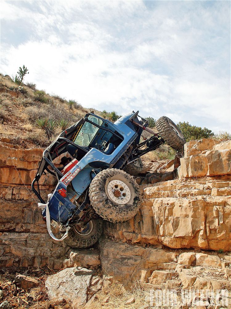 Not Your Average Hill Climber Jeep Rock Crawling