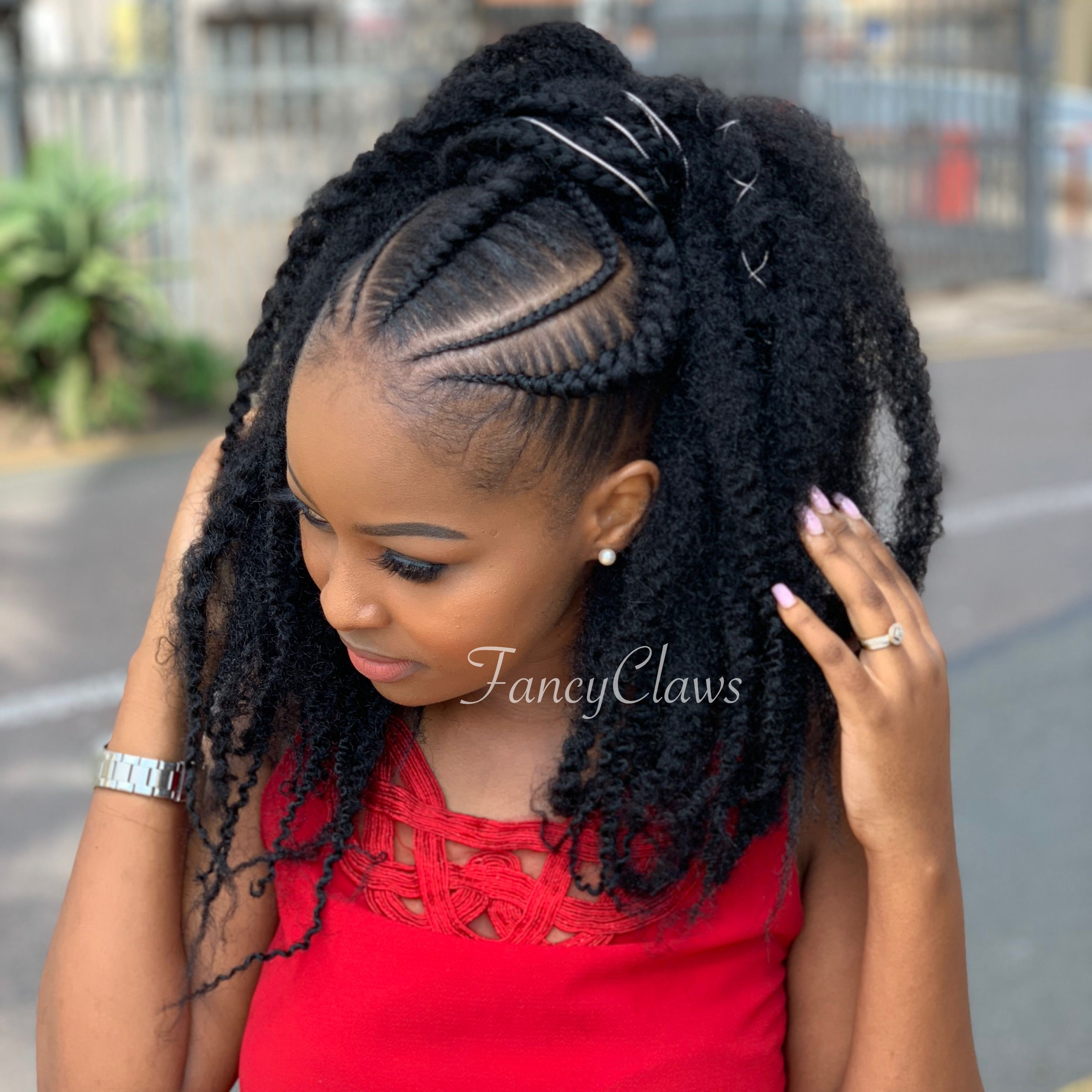 Fancyclaws Salon 15 Hurst Grove Musgrave Durban South Africa 0712093250 Hair Styles Afro Hairstyles African Hair Braiding Styles