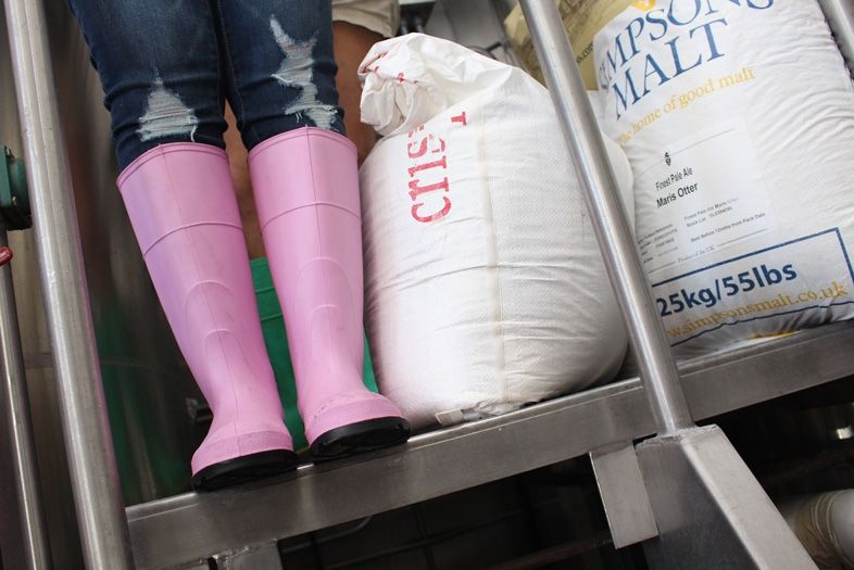 Pink Boots Beer Is Coming Craft beer cocktail, Pink