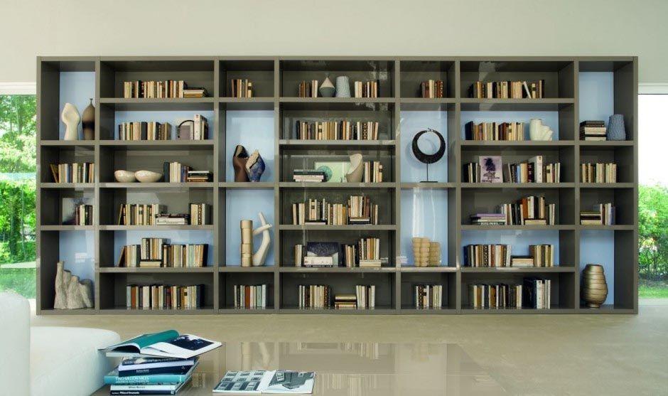 biblioteca em casa moderna - Pesquisa Google sala nova Pinterest - bibliotecas modernas en casa
