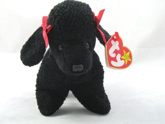Ty Beanie Baby Dog Gigi Poodle Retired VGC  6 shipped  1f69c71b7f2