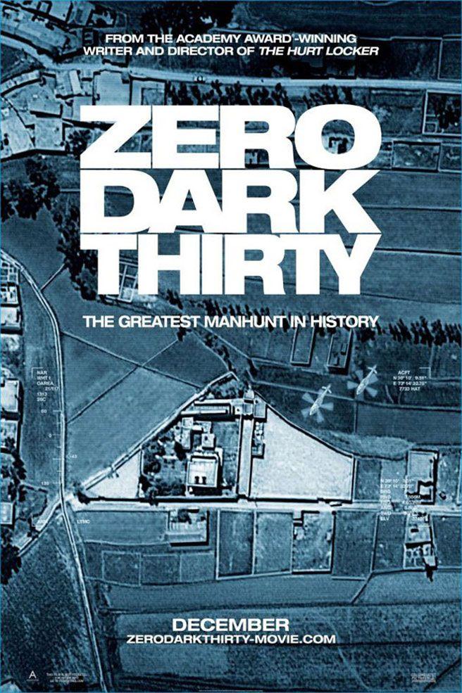 New poster roundup Zero Dark Thirty, Argo, Rise of the