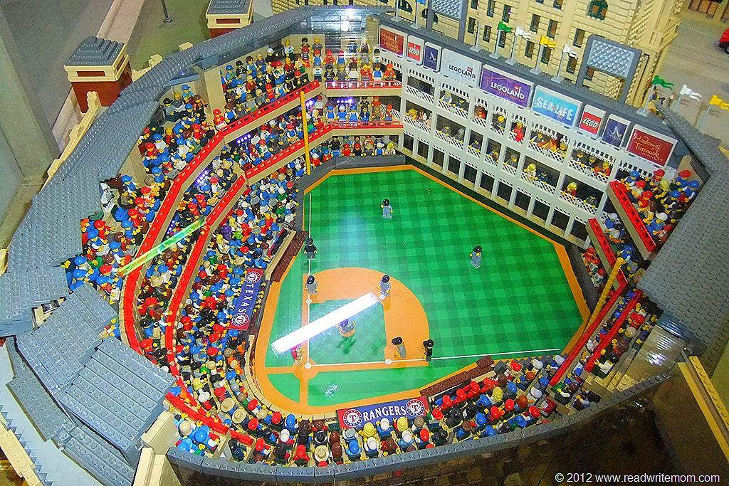 Legoland ballpark with Lego people as fans | cool ideas | Pinterest ...