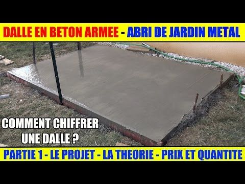 Comment faire une dalle en beton ? travaux maison Pinterest