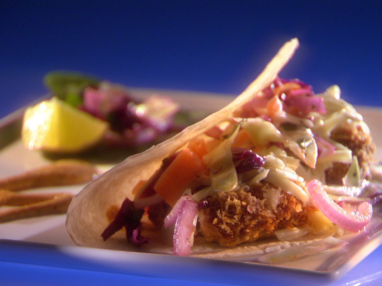 Catfish tacos with cilantro lime slaw and chipotle cream sauce catfish tacos with cilantro lime slaw and chipotle cream sauce forumfinder Gallery