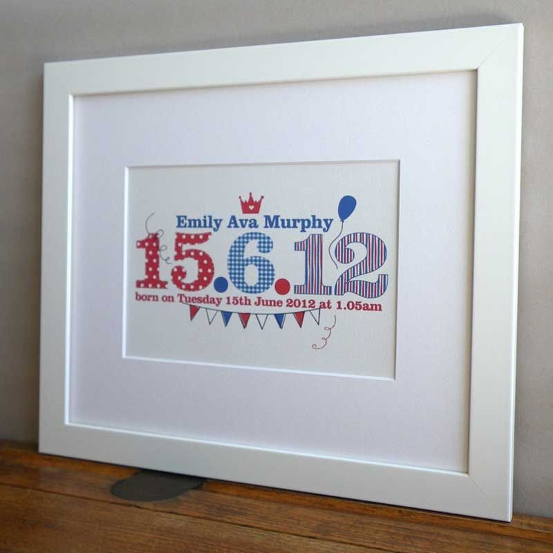 Childrens special date print personalised with a childs name and childrens special date print personalised with a childs name and birth date new baby gift negle Image collections