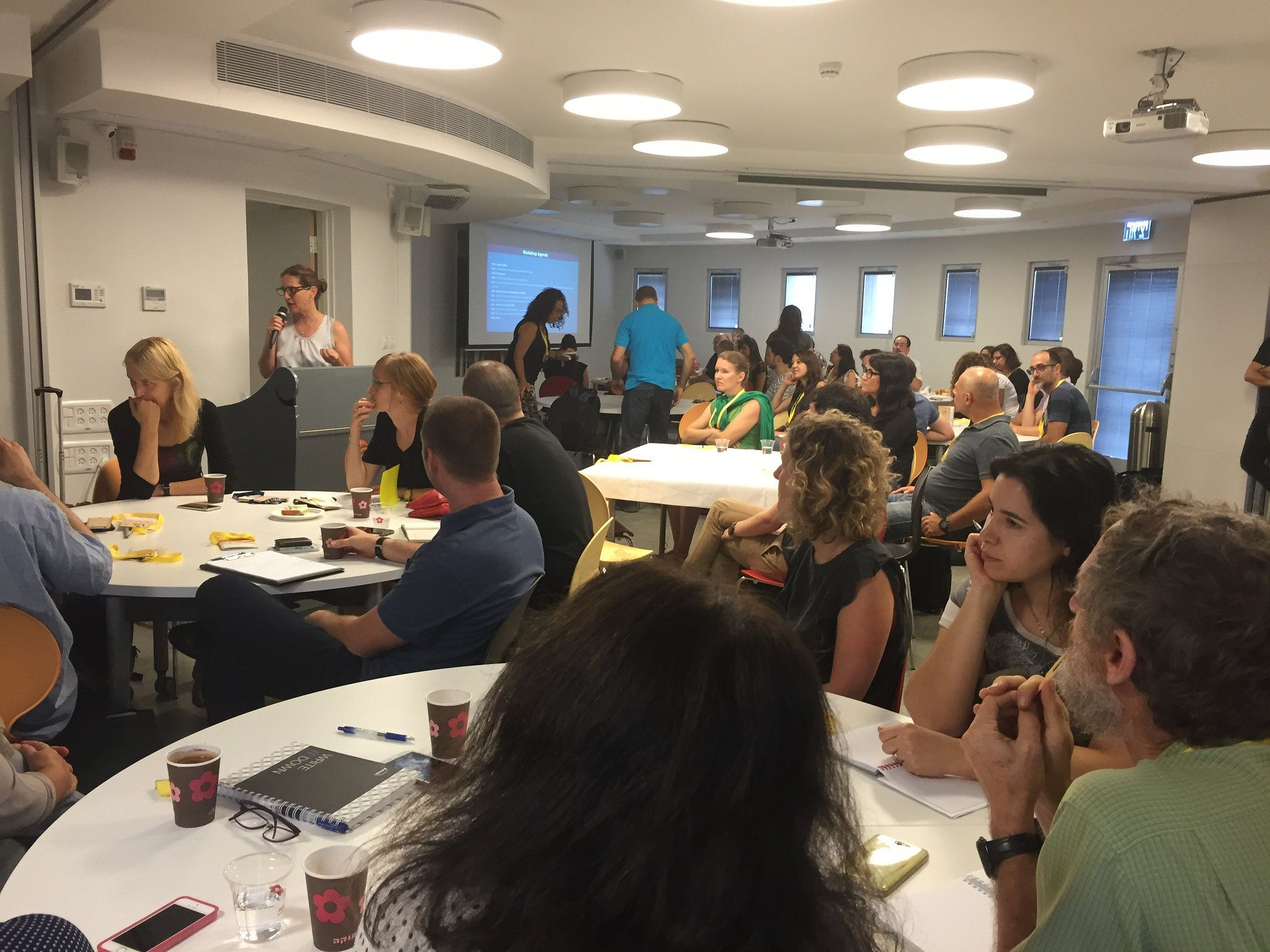 UX Strategy Workshop that I facilitated on September 9th, 2015 in Tel Aviv. It was attended by 75 awesome Israelis!  Read more about it what we covered here: http://edge2015.uxsalon.com/ux-strategy-workshop/