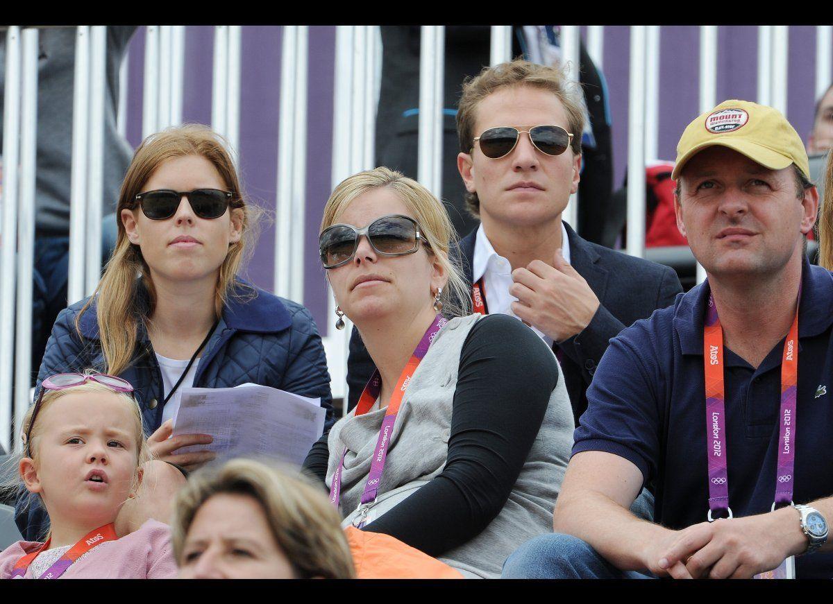 Prince Beatrice Joined Her Boyfriend And Other Non British Royals At The Games Princess Beatrice Royal Princes Beatrice