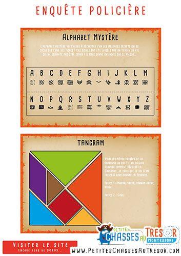 alphabet cod pour enfant et enqu te polici re chasses au tr sor pinterest policier. Black Bedroom Furniture Sets. Home Design Ideas