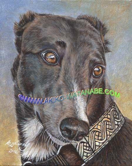 Shades Of Grey Hound By Jane Jones On Etsy Windhunde Windhund
