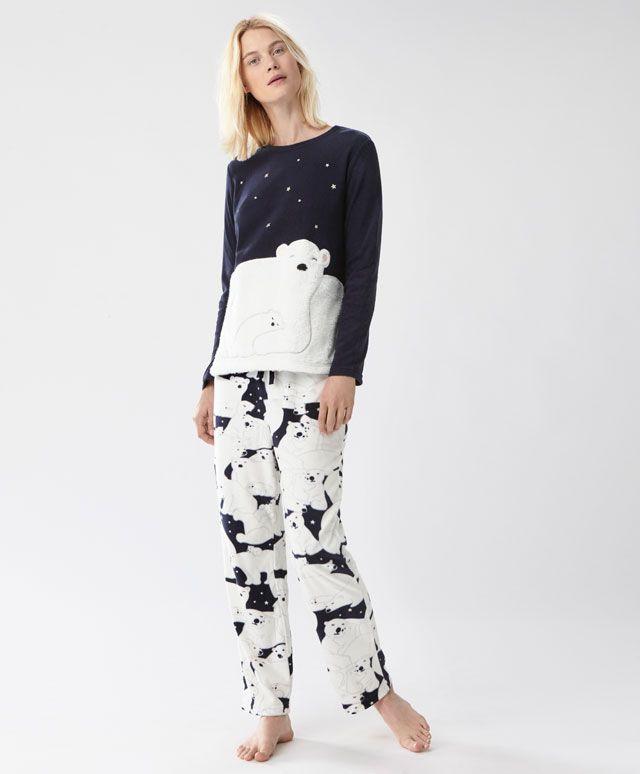 6944dd99d95 Pantalón oso polar - Los más buscados - Rebajas de Invierno en moda de  mujer en Oysho online  ropa interior