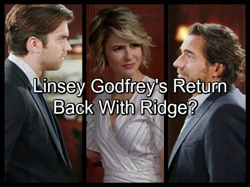 The Bold And The Beautiful Spoilers Linsey Godfrey Leaks B B Return Back With Ridge After Brooke Breakup