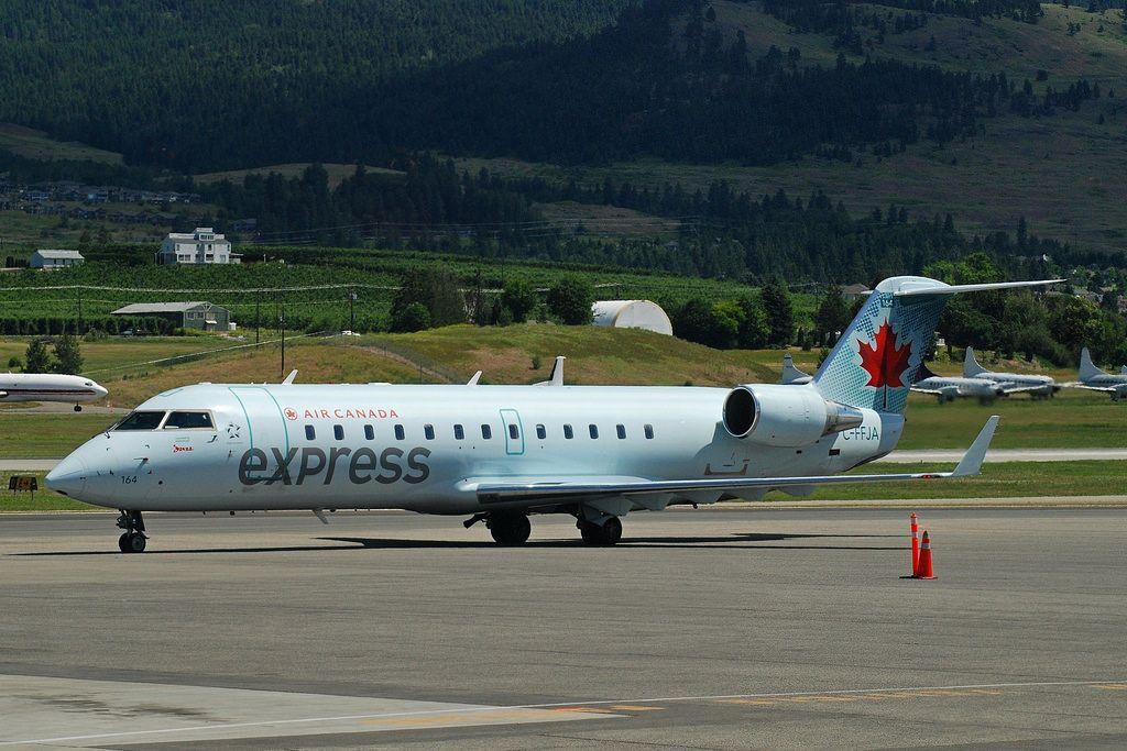 Air Canada Express Fleet Bombardier CRJ100/200 Details and