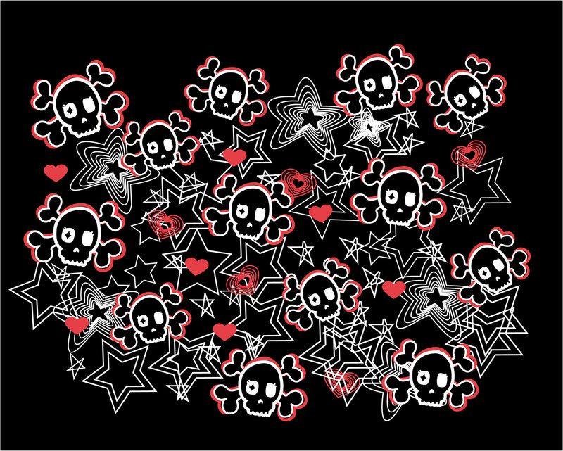 Cute Skulls Wallpaper Pesquisa Google