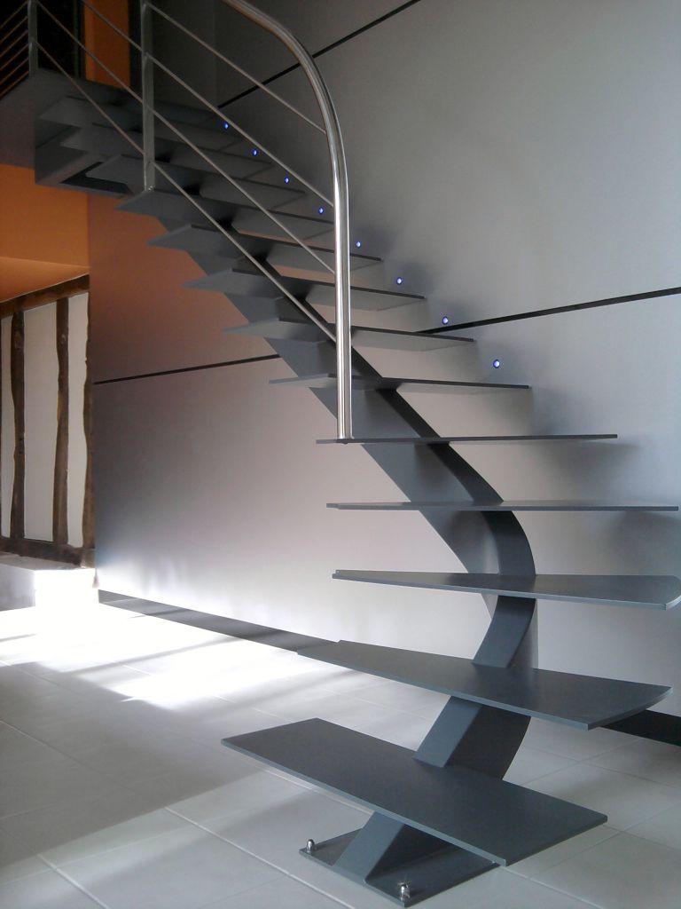 Escalier cr atif 4 stairway pinterest escaliers modernes escaliers et - Escalier colimacon petit diametre ...
