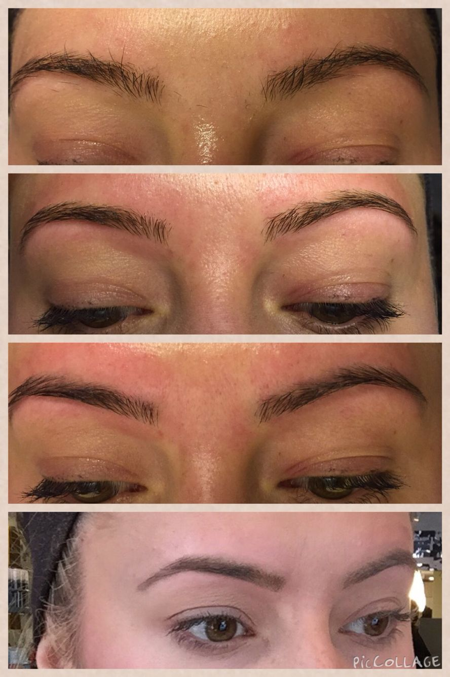 Steps Of Eyebrow Shaping By Myself On Myself From Top To Bottom