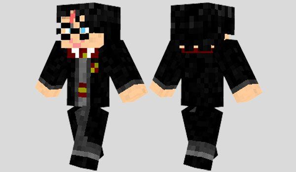 Harry Potter Skin Para Minecraft Harry Potter Minecraft Minecraft Skins Harry Potter Minecraft Skins