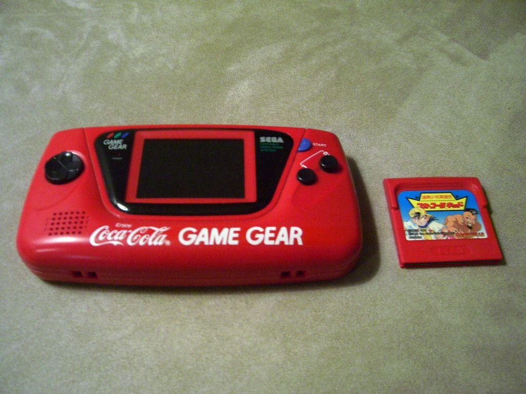 game gear colors : Coca Cola Branded Sega Game Gear