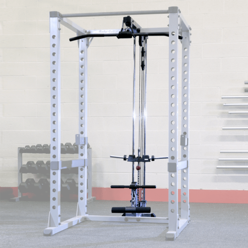 Lat Pulldown Attachment For Body Solid Power Rack Gpr378 Plates Equipment In 2020 Body Solid Power Rack Power Rack At Home Gym