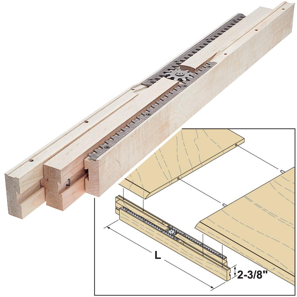 Woodworker Com Equalizer Table Extension Slides 2020